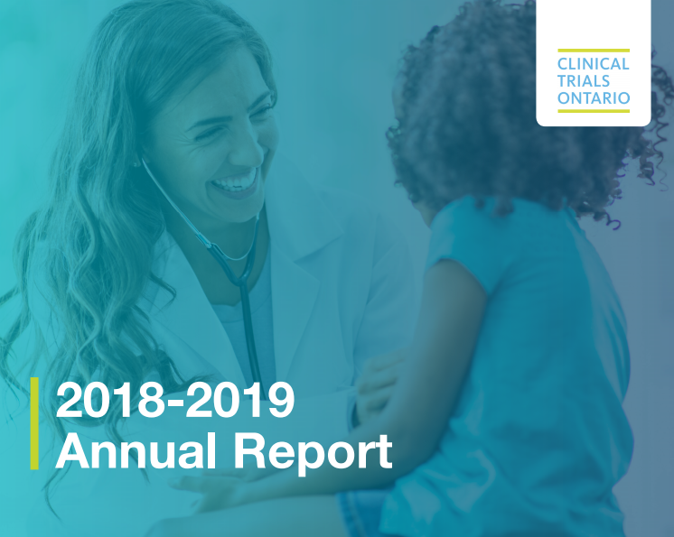 CTO's Year in Review: Collaborating for more and better clinical trials in Ontario