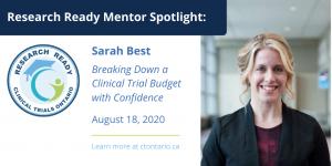 Research Ready Mentor Spotlight – August 2020
