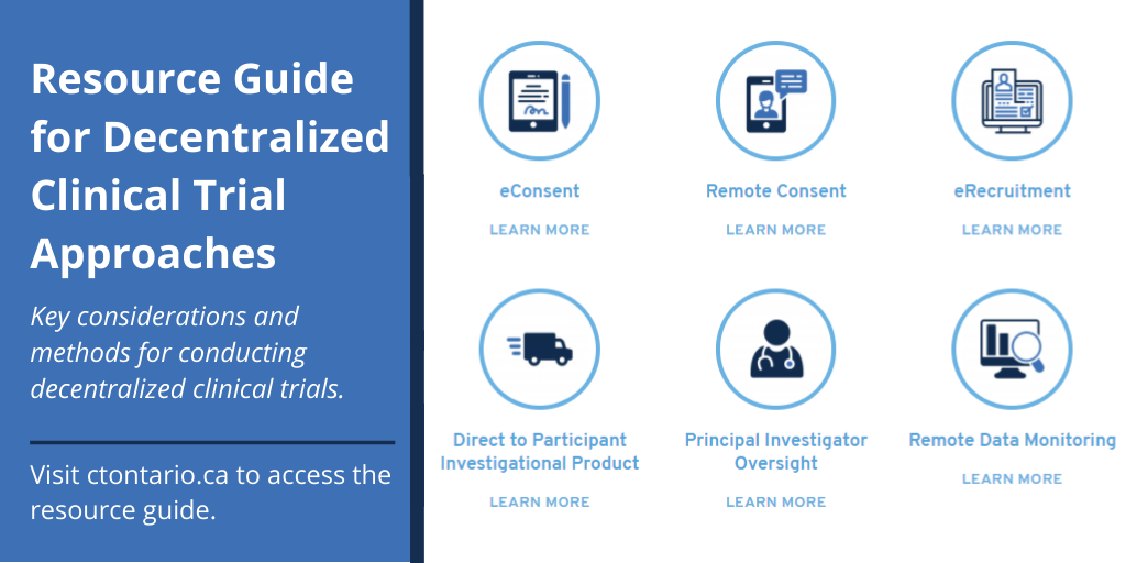 Introducing the ACT Initiative and the Resource Guide for Decentralized Clinical Trial Approaches